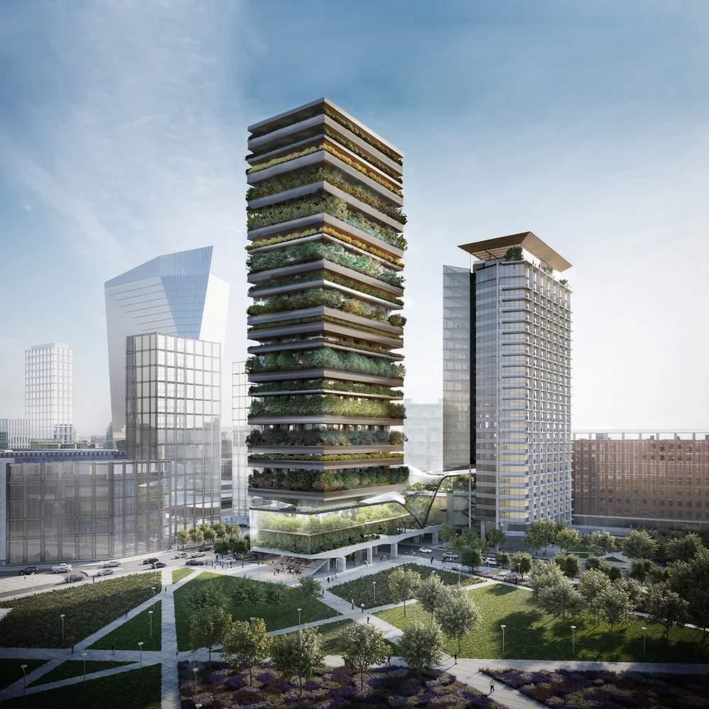 Будівлі розташовані за адресою: Pirelli 39, Milan / Фото Designboom