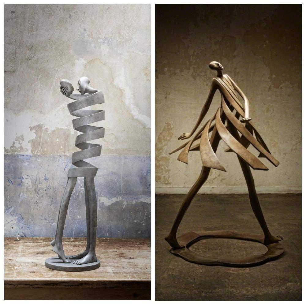 Бронзові скульптури