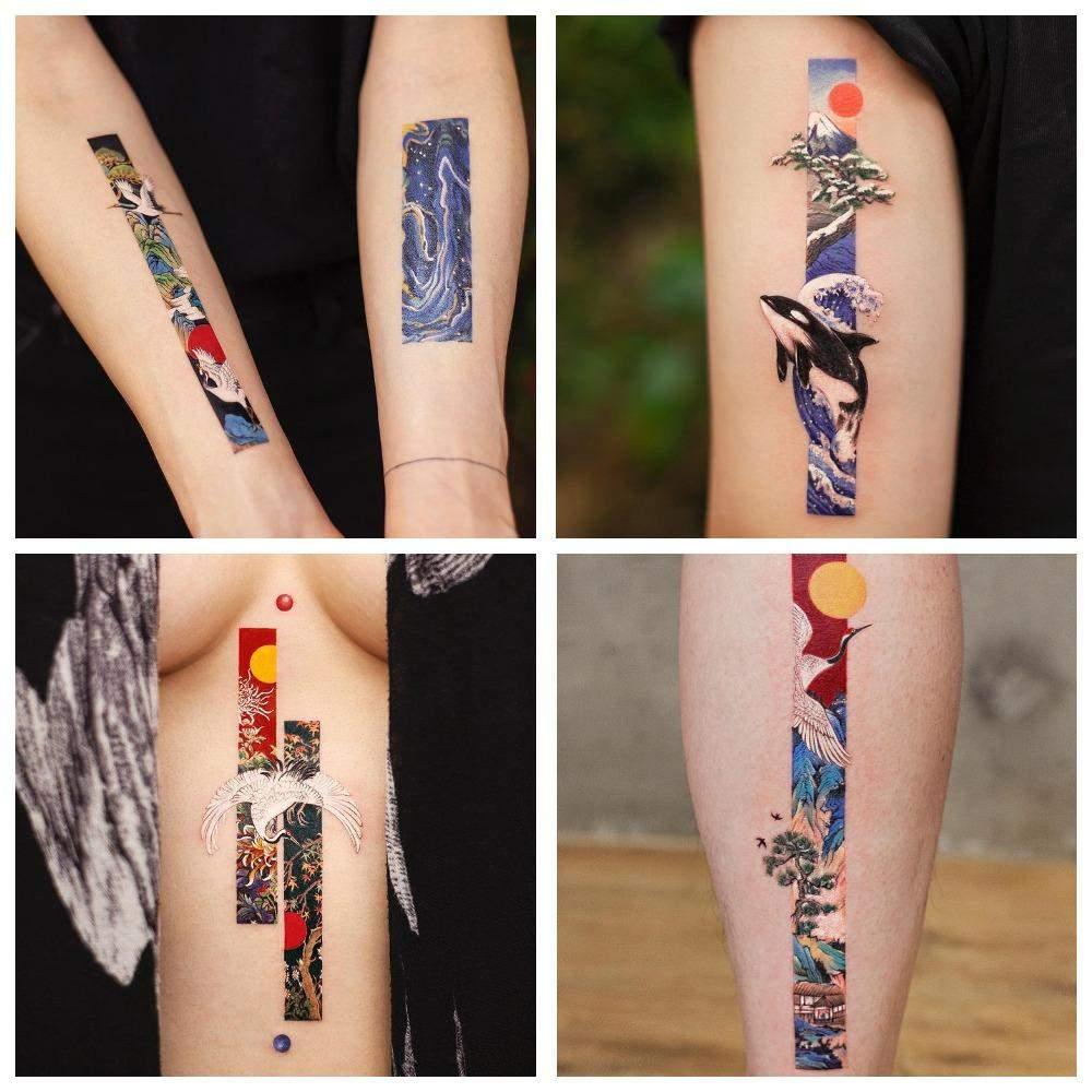 Татуювання Френкі Ян