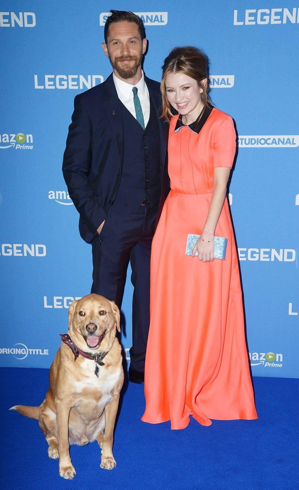 Том Гарді і собака