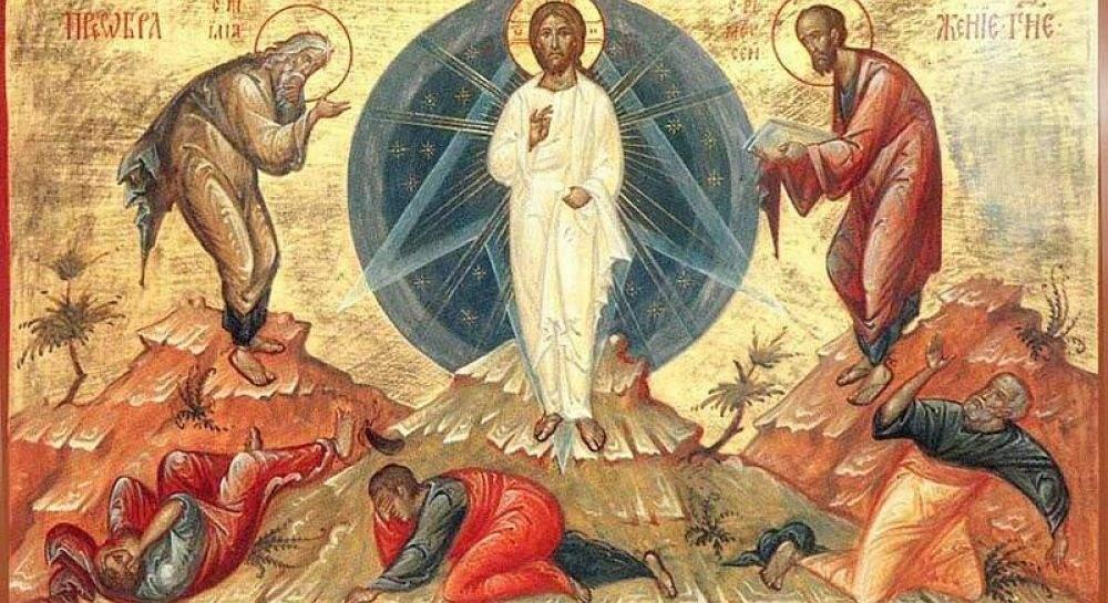Преображення Господнє історія свята
