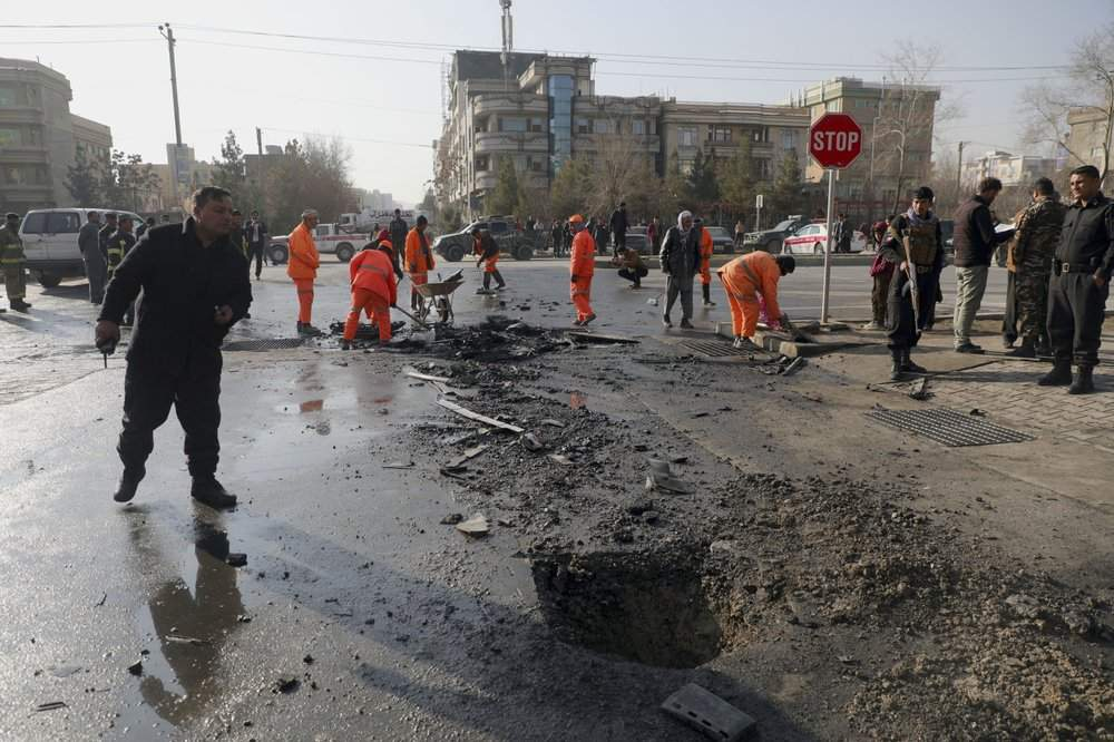 Атаки у Кабулі