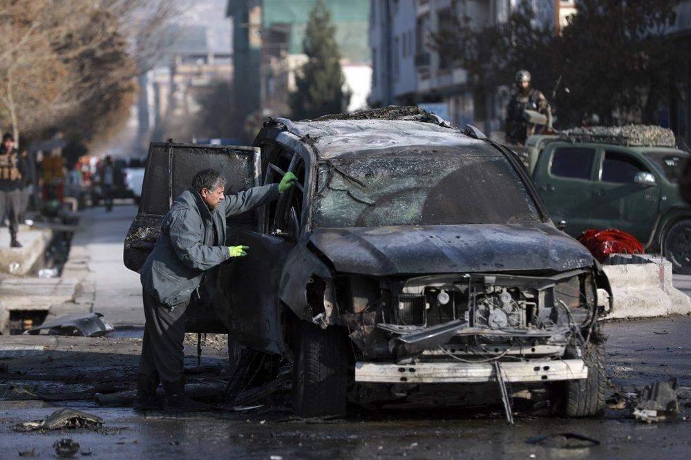Вибух  бомби у Кабулі