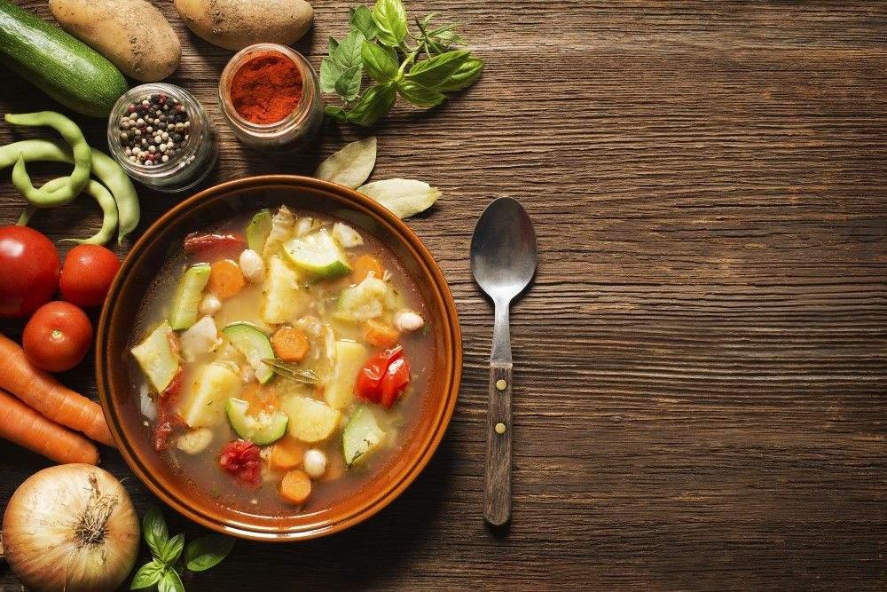 Вітамінний курячий суп