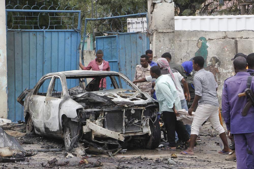 Авто у Сомалі вибухнуло