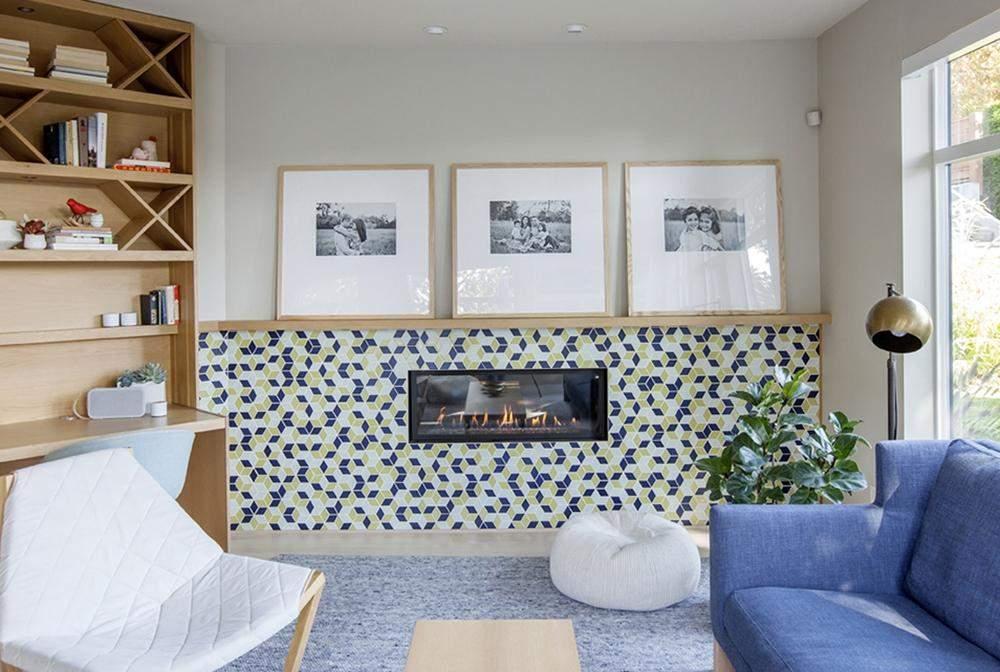 Переповнена онаментом плитка може засмічувати простір / Фото HGTV