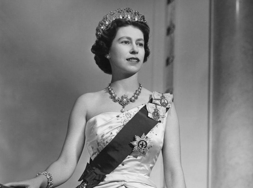 Королева Єлизавета ІІ в молодості