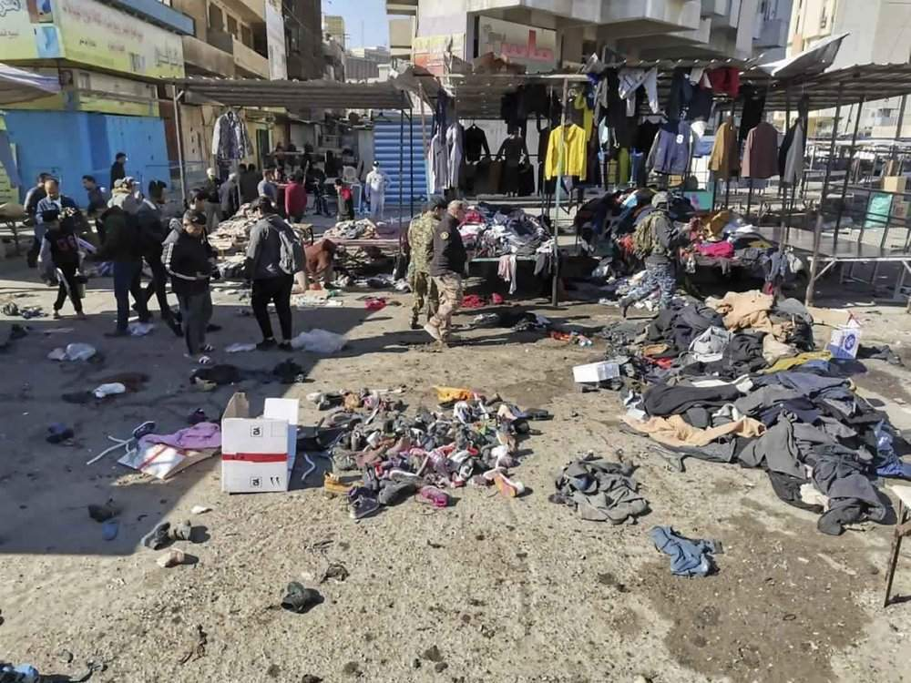 Теракт на ринку Багдада