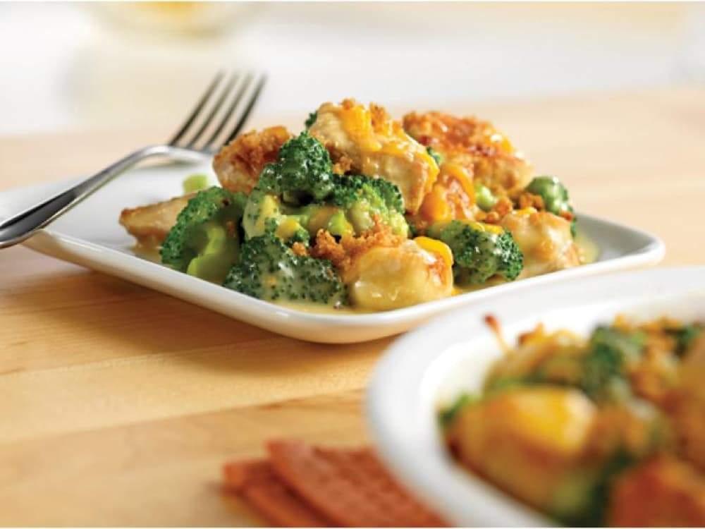 броколі з куркою