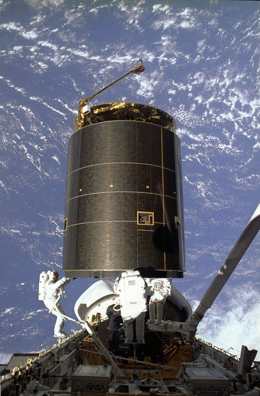 Захоплений супутник зв'язку