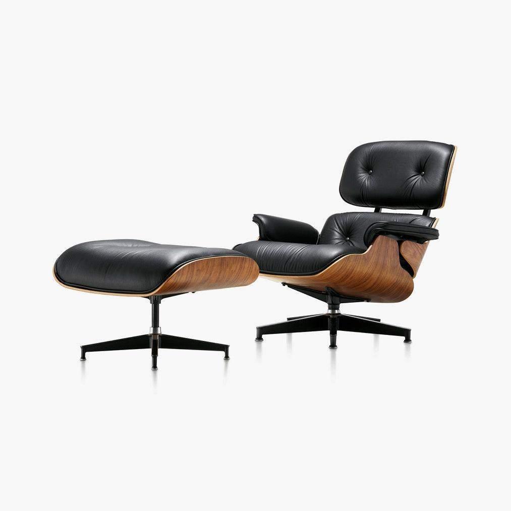 Lounge Chair and Ottoman за дизайном Чарльза і Рея Імзова