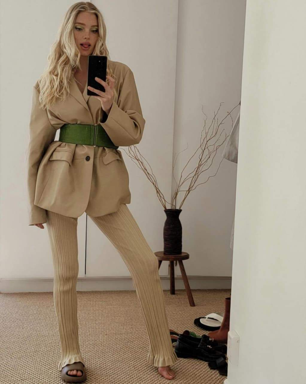 Ельза Госк приміряла стильний образ / Фото з інстаграму