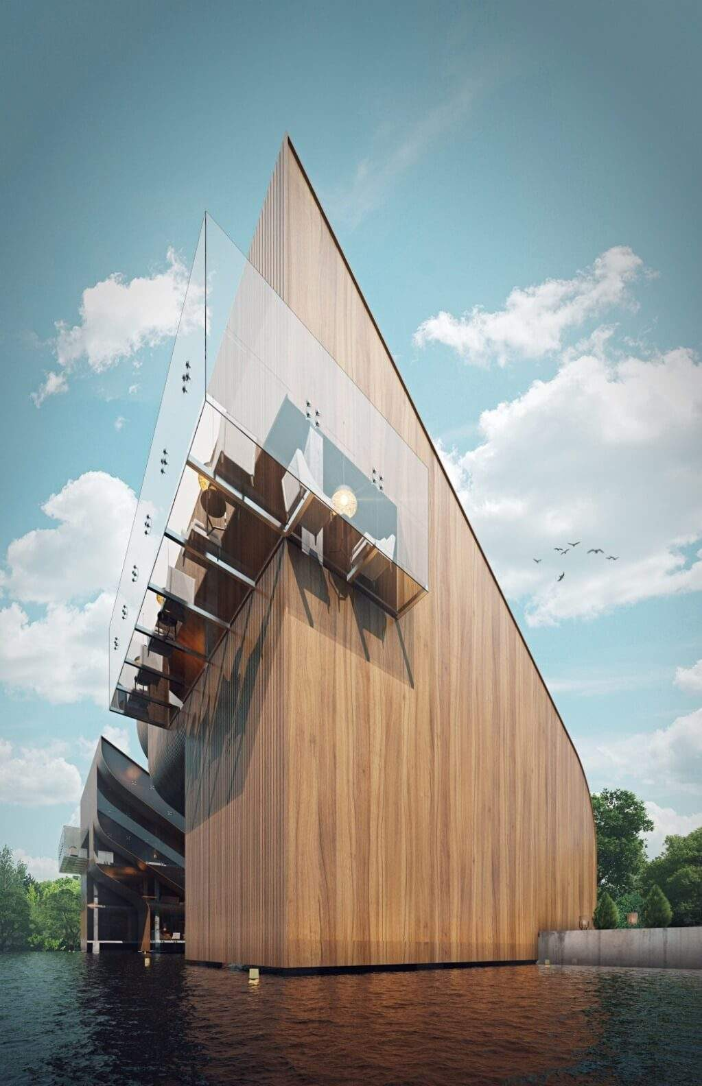 Сучасний, сміливий дизайн вілли   / Фото Architectures Style