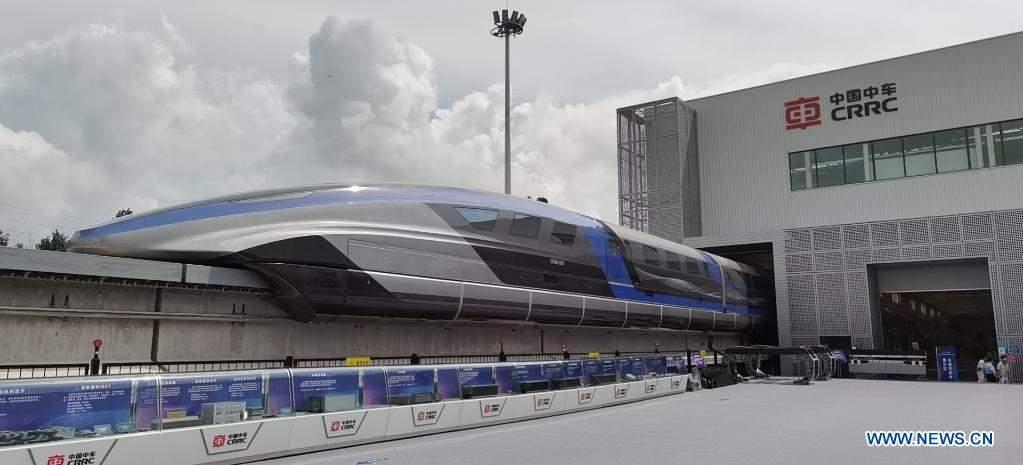 Китайці представили новий швидкісний потяг