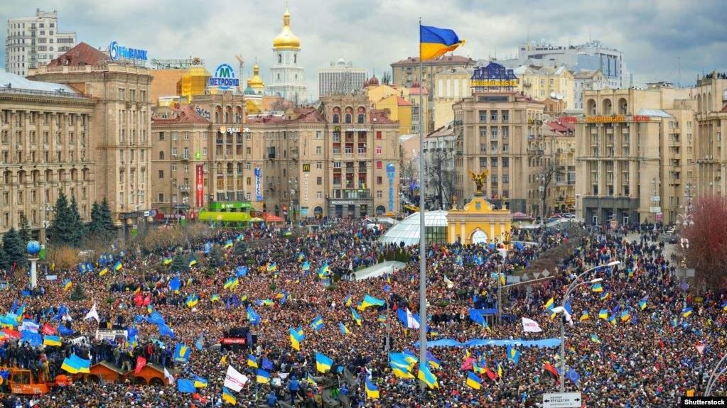 мітинг на майдані незалежності 1 грудня