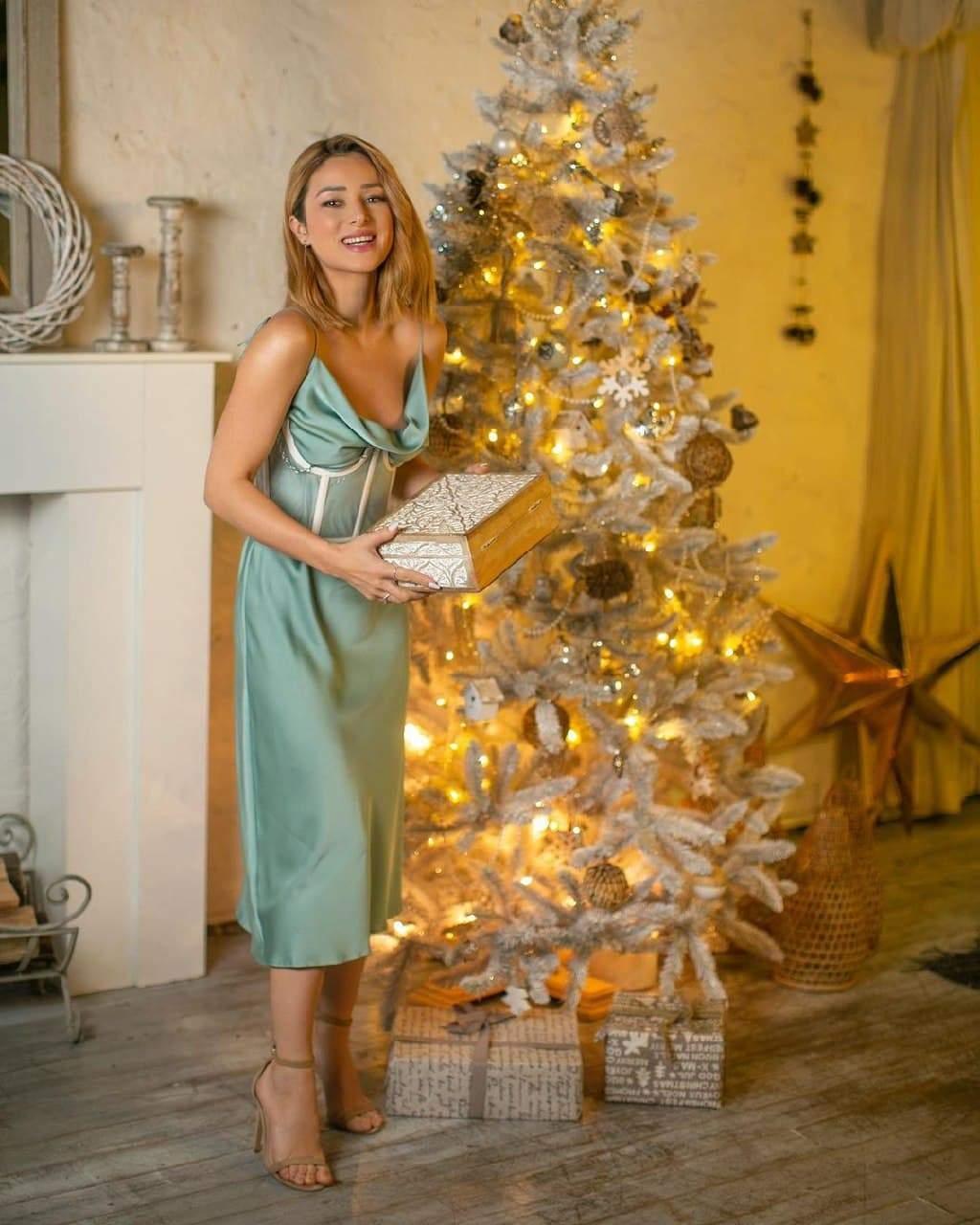 Злата Огнєвіч пропонує бездоганний образ на Новий рік