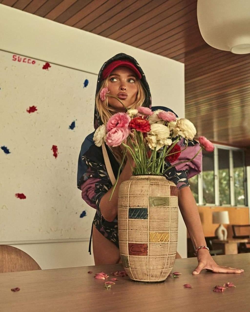 Ельза Госк у фотосесії для Vogue