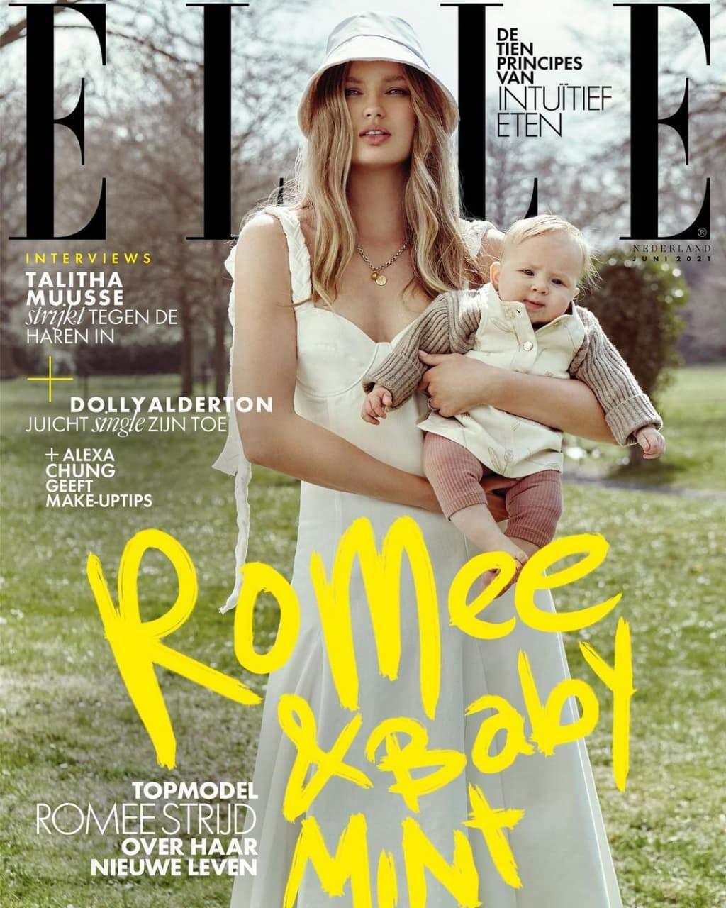 Ромі Стрейд для глянцю Elle