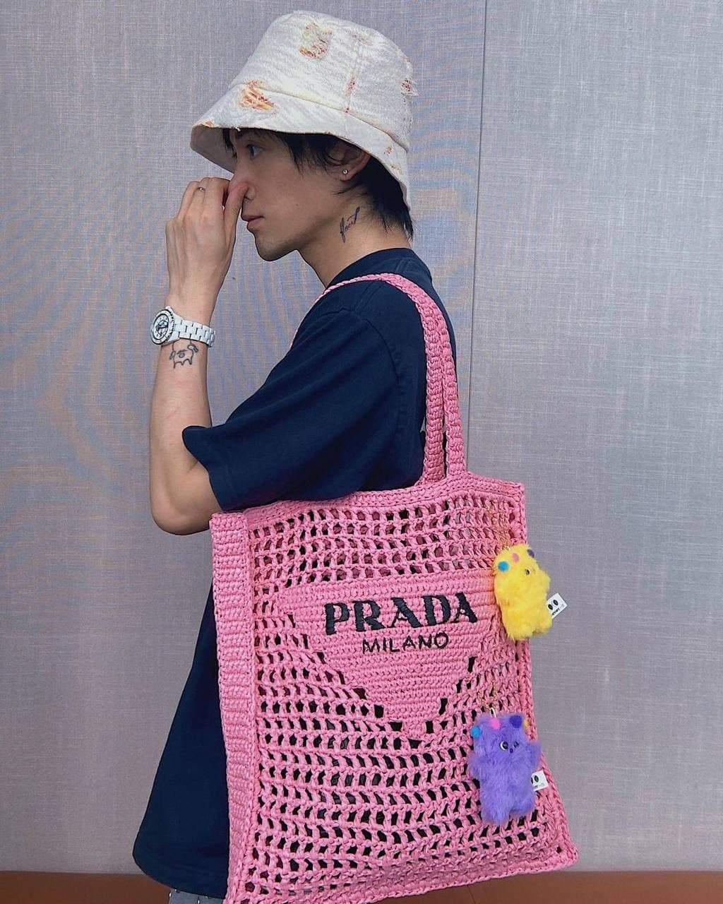 Стильні шопери Prada