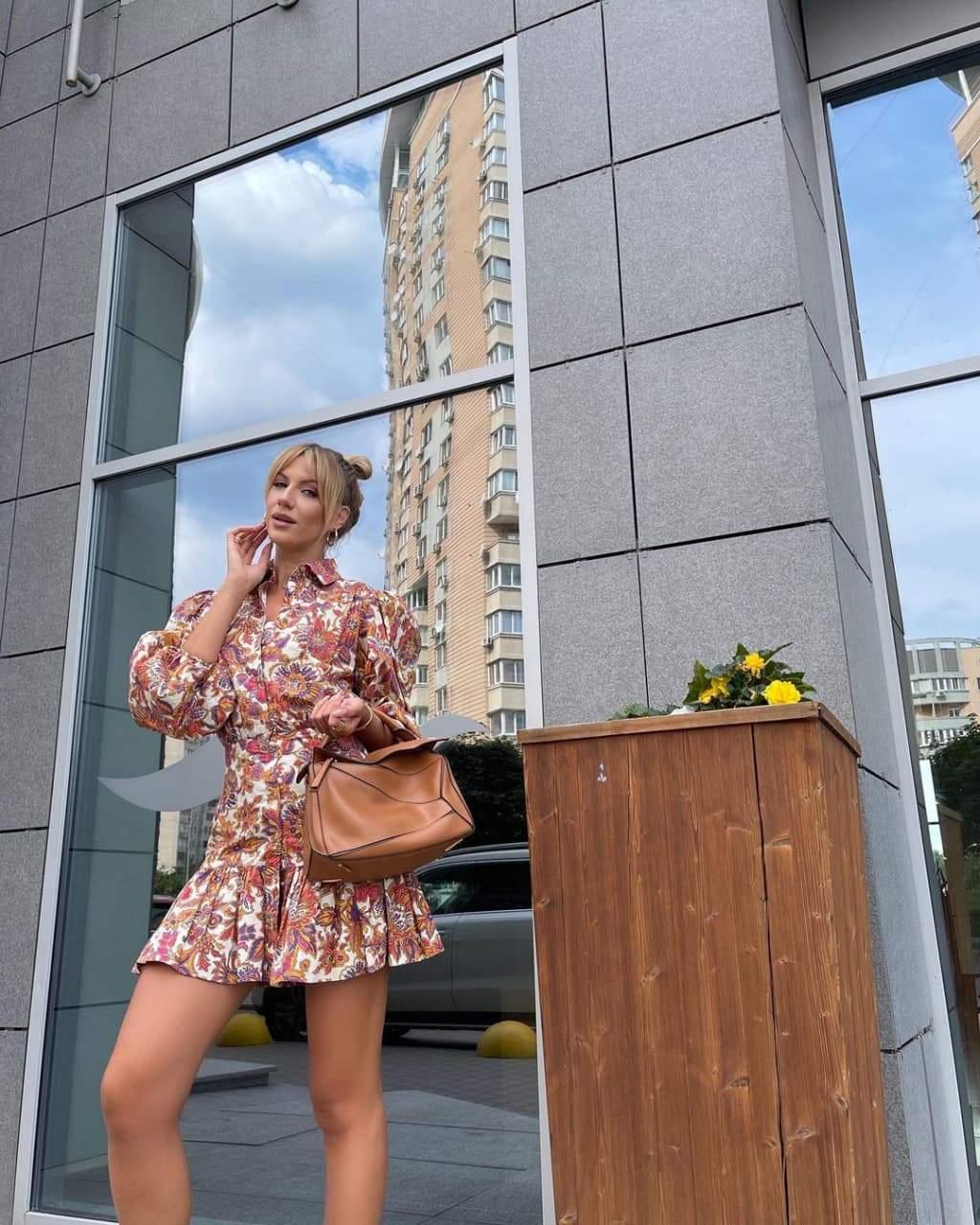 Стильний образ Лесі Нікітюк / Фото з інстаграму телеведучої
