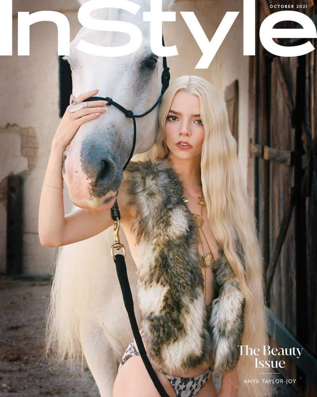 Аня Тейлор-Джой знялася у фотосесії для In Style / Фото з інстаграму видання