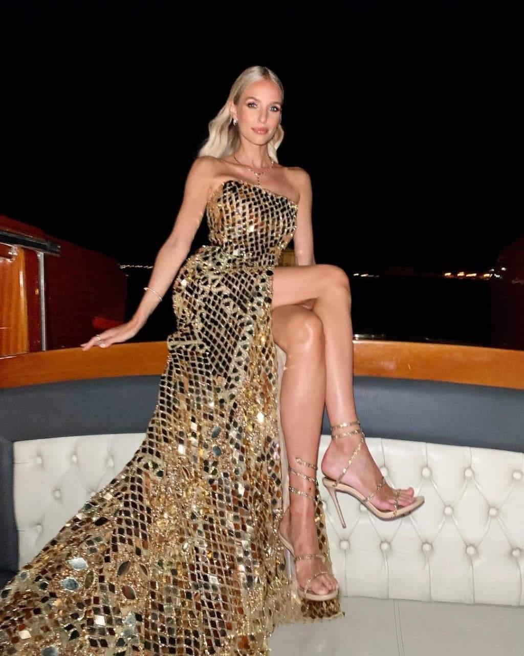Леоні Ганне у бездоганній сукні на Венеційському фестивалі / Фото з інстаграму