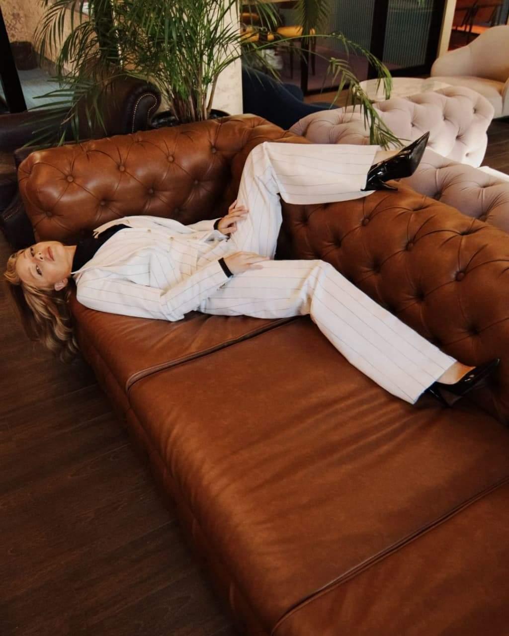 Стильний образ Тіни Кароль / Фото з інстаграму співачки