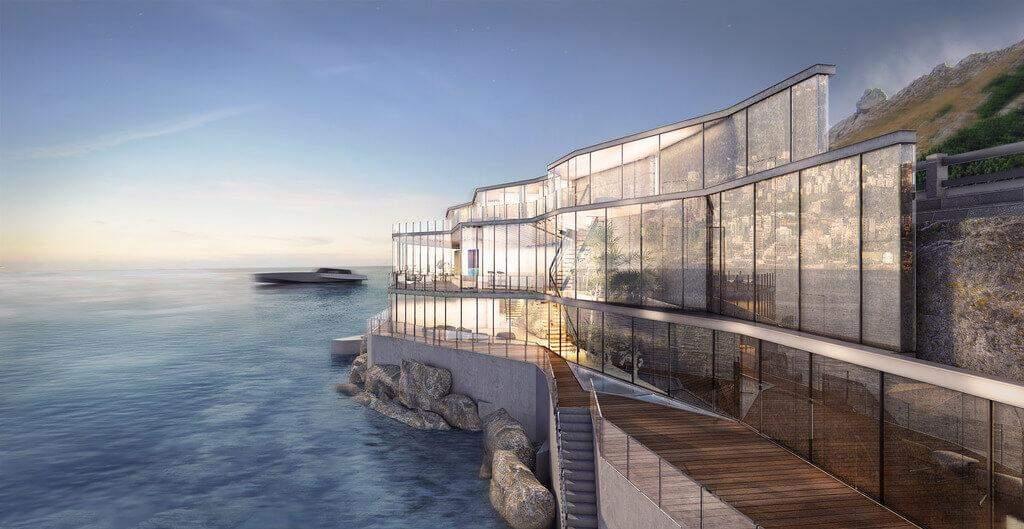 Будівля займає близько 1 тисячі квадратних метрів / Фото Architectures Style