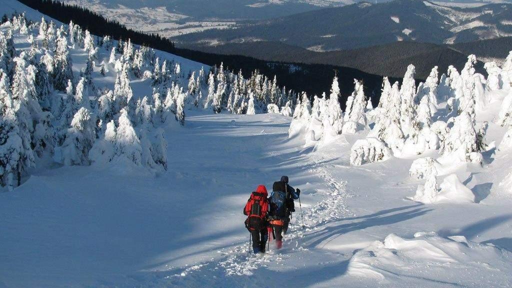 Взимку в горах теж красиво