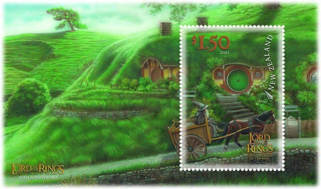 У Новій Зеландії випустили поштові марки і листівки за