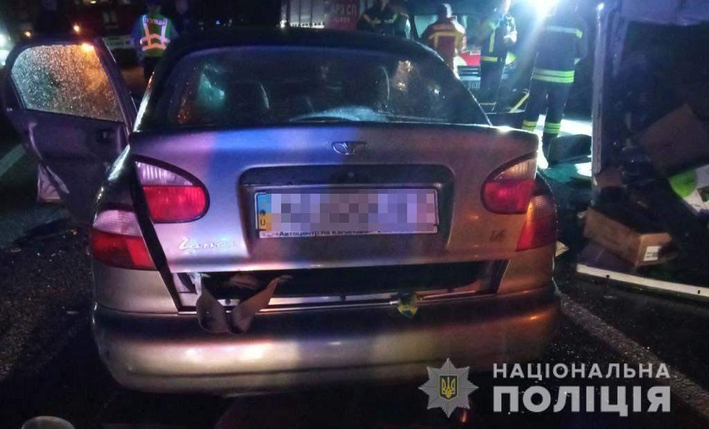 На Дніпропетровщині у ДТП потрапили 4 автомобілі
