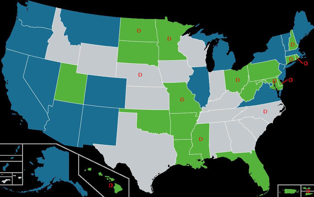 Карта легалізації канабісу США