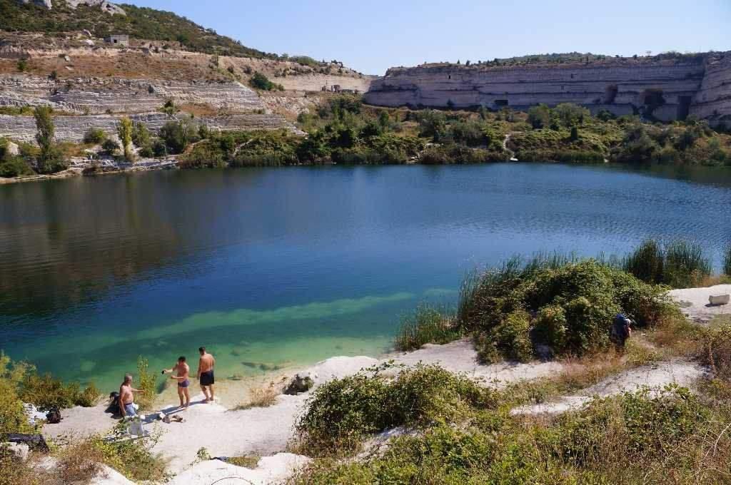 Інкерманське озеро до окупації