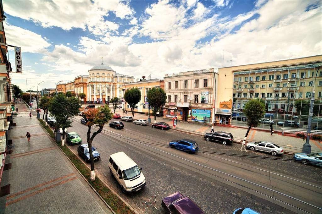 Вулиця Соборна у Вінниці