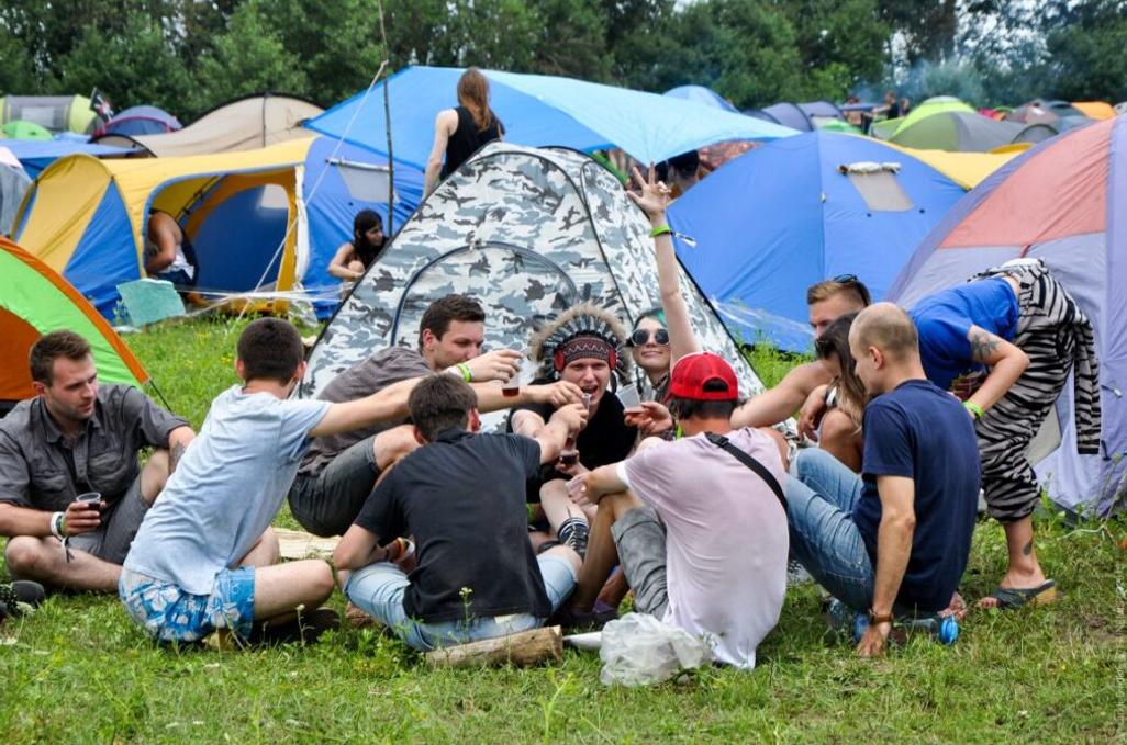 Кемпінги на території фестивалю