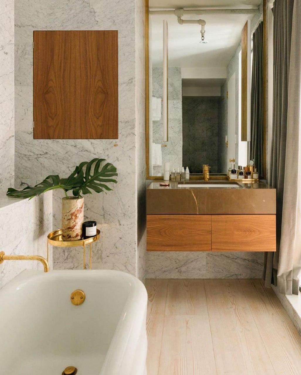 Ванна кімната шведської моделі