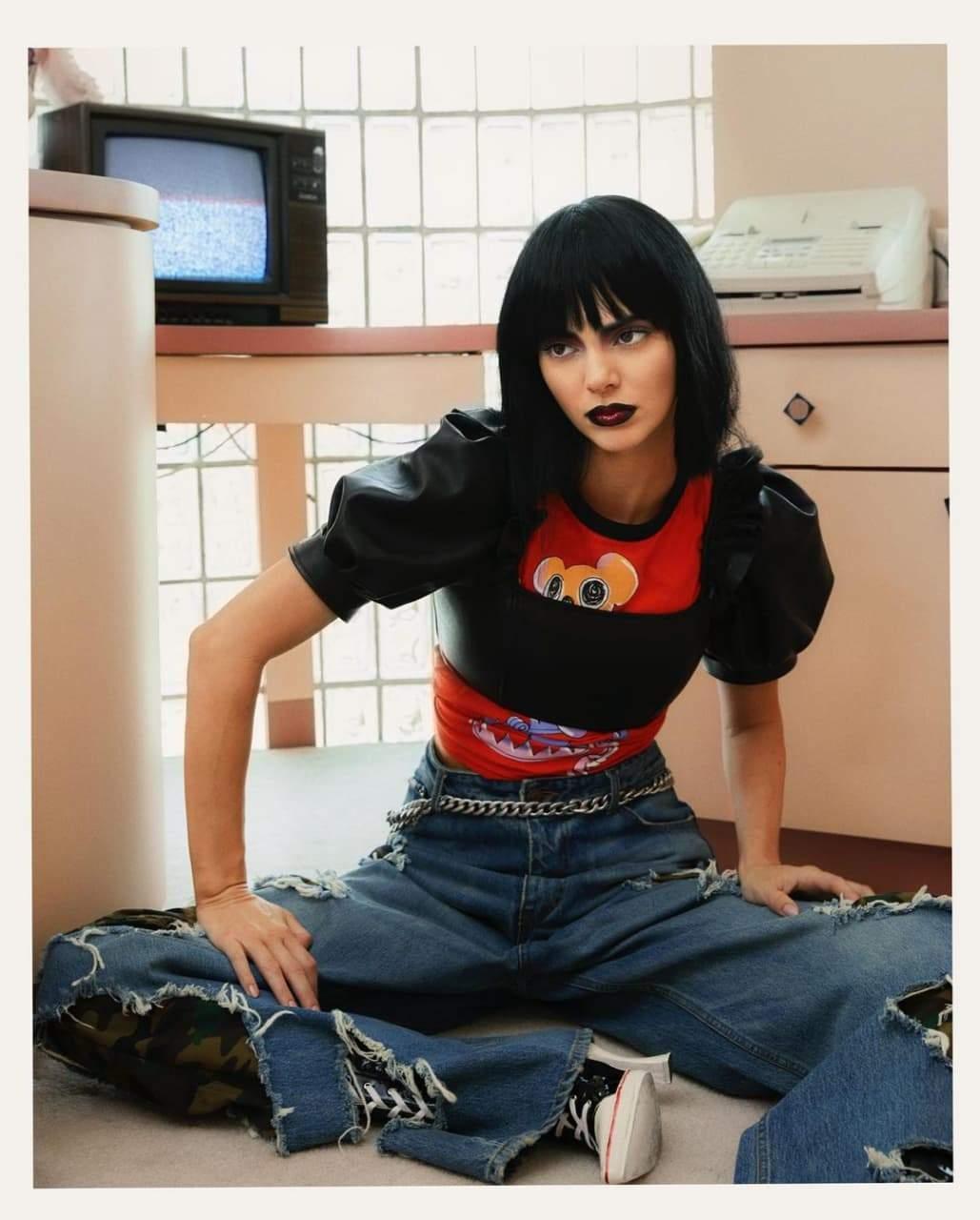 Кендалл Дженнер у зйомці для Vogue Spain