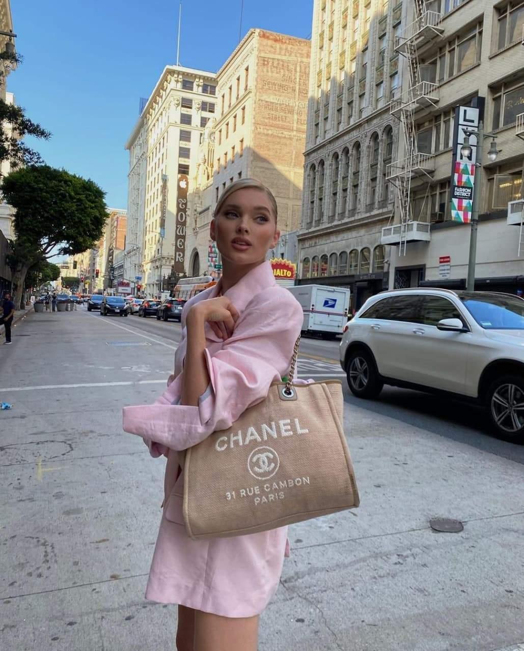 Рожевий образ Ельзи Госк / Фото з інстаграму моделі