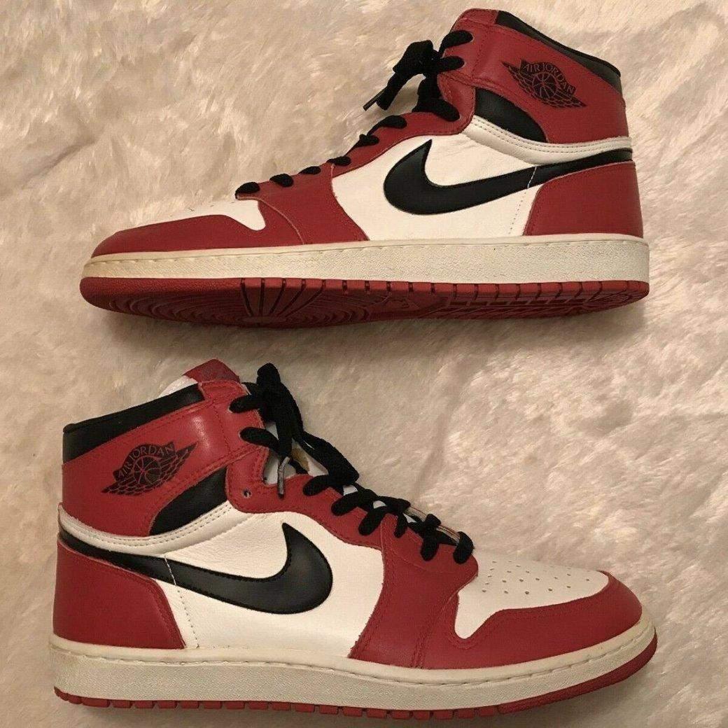 Кросівки з автографом Майкла Джордана виставили на продаж за нечувану вартість