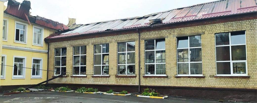 Пожежа в школі Чугуєва
