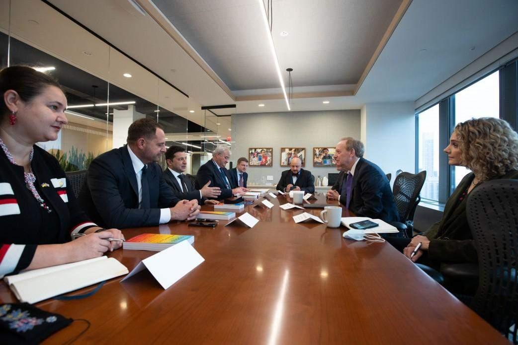 Зеленський провів зустріч з генсеком НАТО