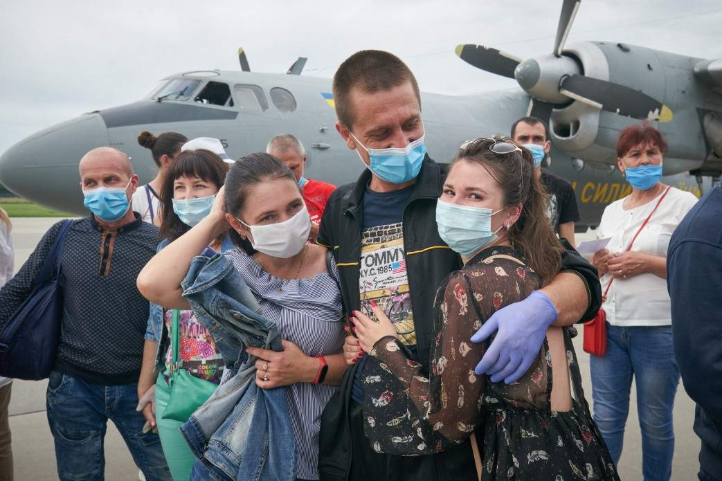 українські моряки повернулися з Лівії