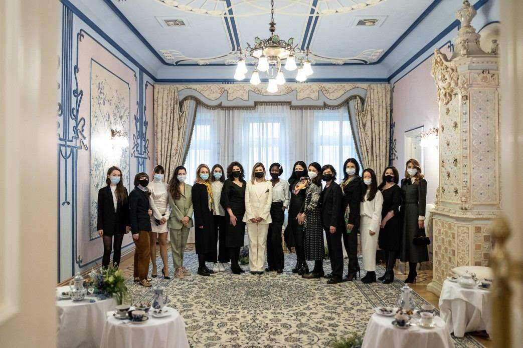 Олена Зеленська на зустрічі з жінками