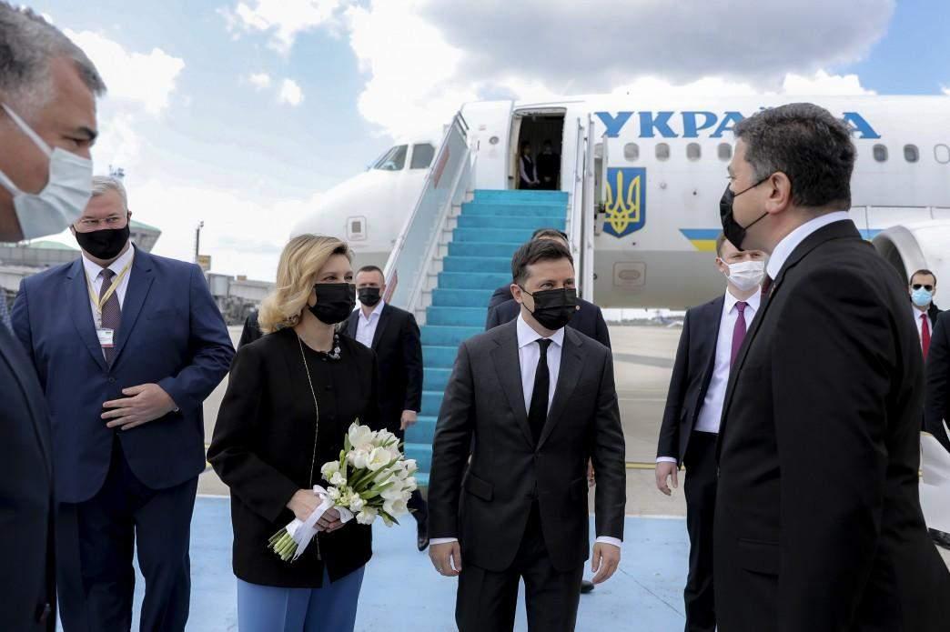 Володимир і Олена Зеленські в Туреччині
