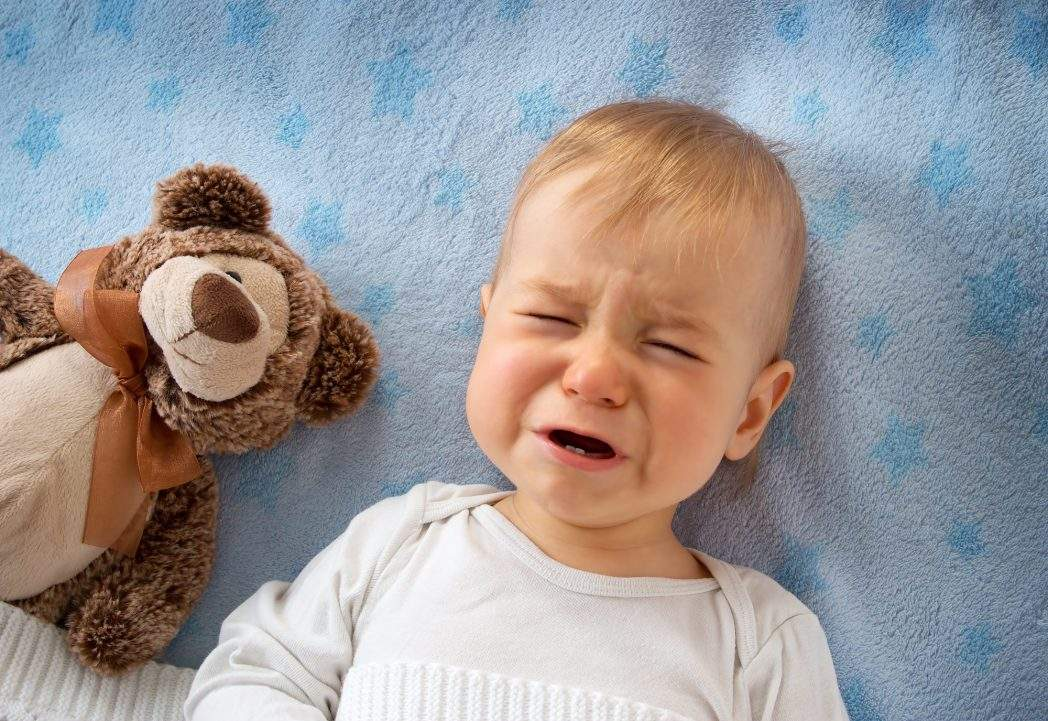 Причини плачу малюка