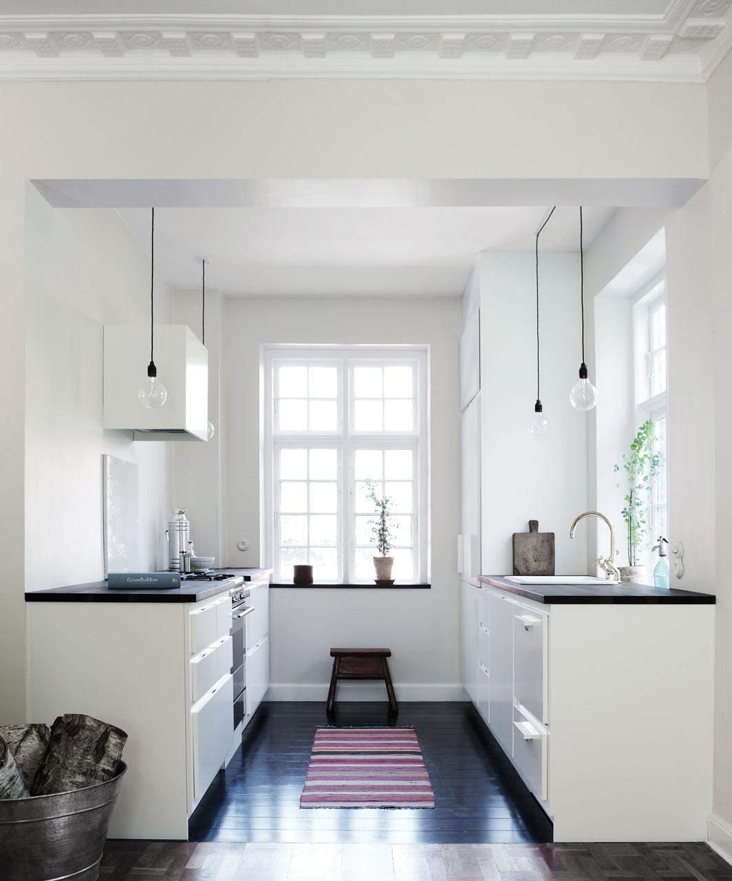 Інтер'єр паралельної кухні