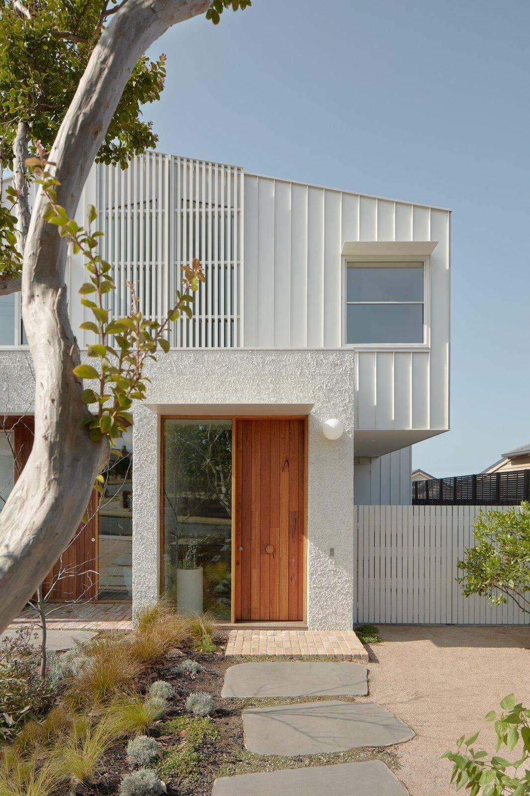 Сучасний фасад нового будинку у Мельбурні / Фото Dwell