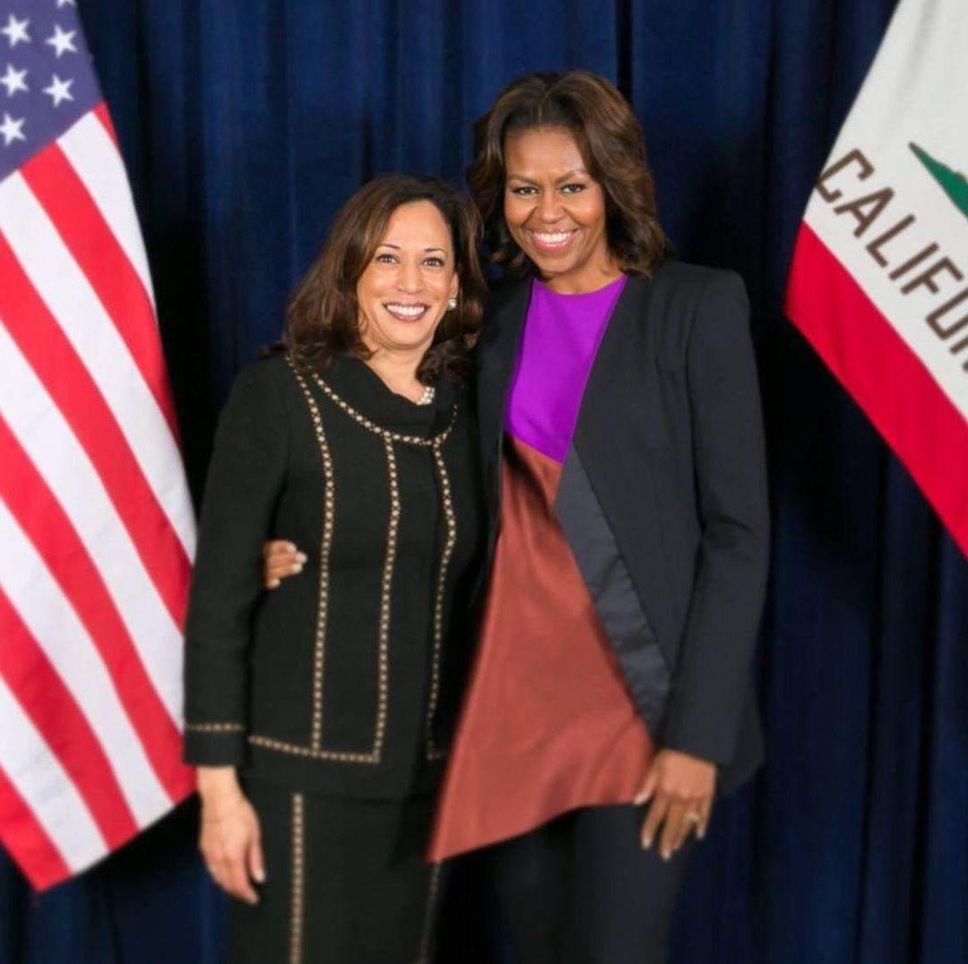 Мішель Обама і Камала Гарріс