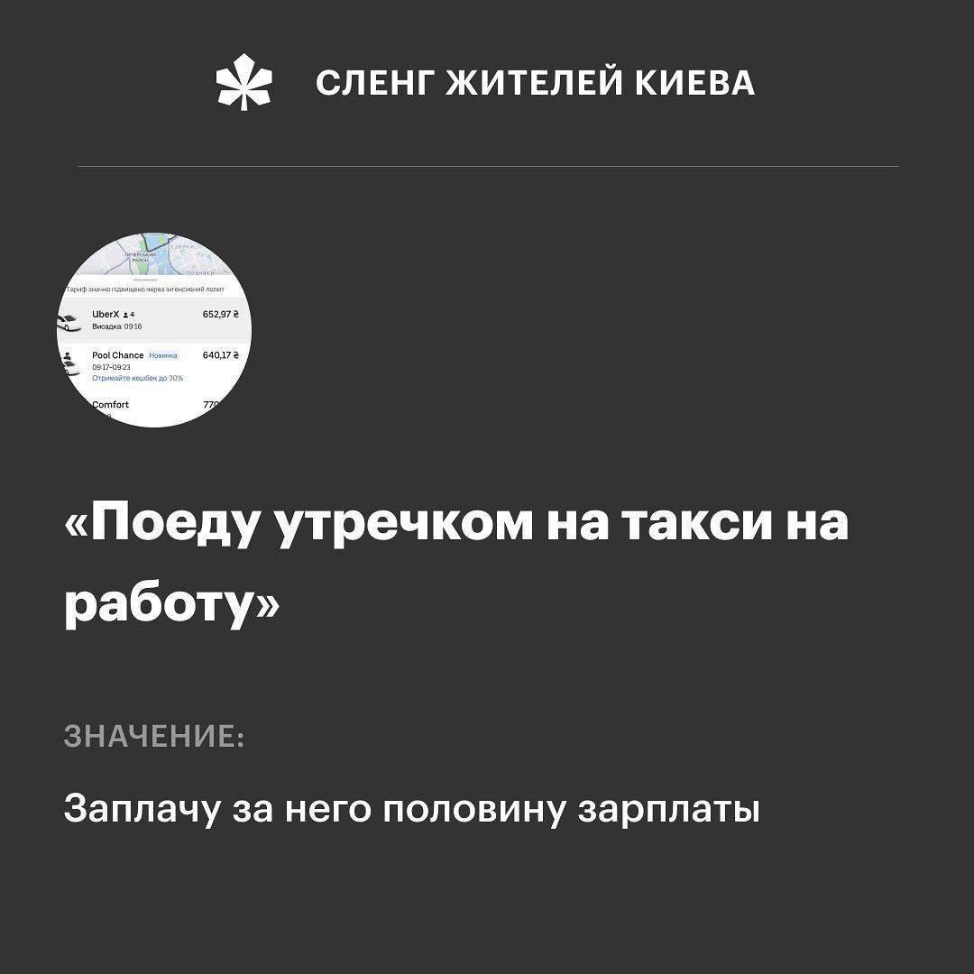 Смішний сленг жителів столиці День Києва 2021