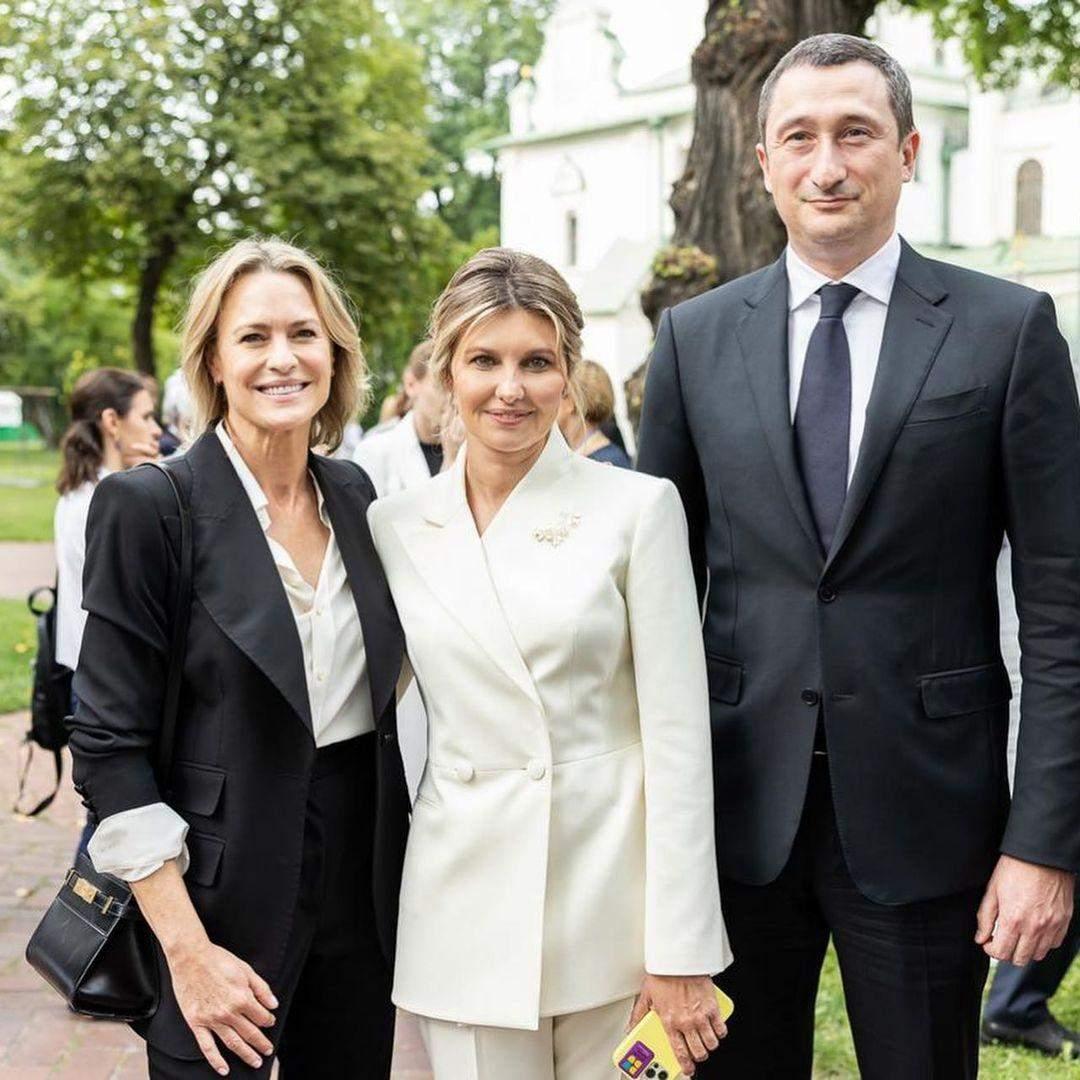 Олена Зеленська та Робін Райт